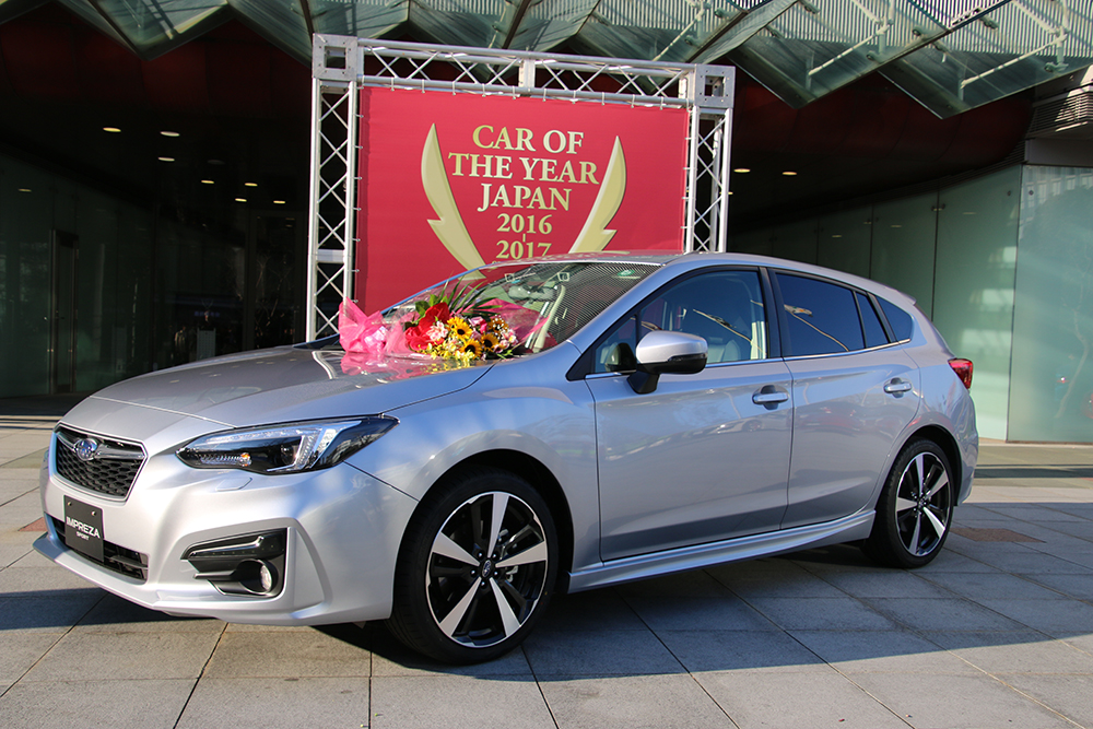 Subaru Impreza wint Car of the Year in Japan