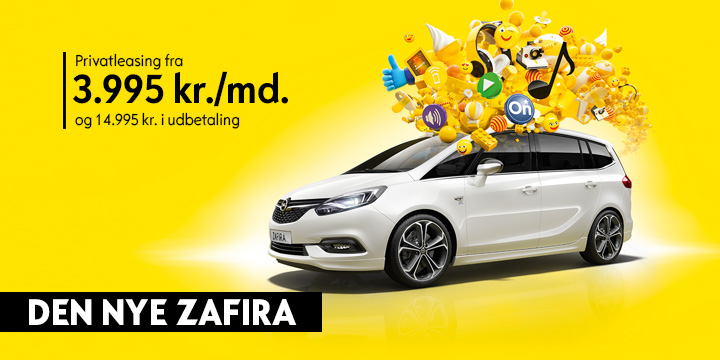 Zafira Privatleasing (HERO 3)